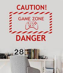 jeux de amoure dans la chambre nouvelle maison vinyle sticker zone de jeu vidéo jeu adolescent