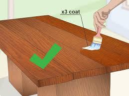 3 ways to waterproof wood wikihow