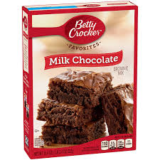amazon com betty crocker brownie mix milk chocolate family size