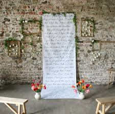 personalised wedding backdrop uk personalised your special words backdrop by modo creative
