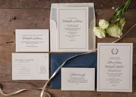 wedding invitations newcastle christopher navy wedding invitations paper elephant