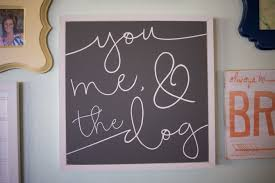 signs home decor you me and the dog s 18 x18 wood sign home decor living