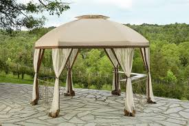 Patio Gazebos by Patios Using Stunning Garden Winds Gazebo For Cozy Outdoor