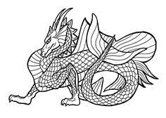realistic dragon coloring pages adults az coloring pages