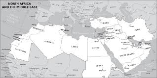 Ancient Near East Map Map Of Middle East Black And White