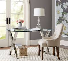 The Perfect Glass Top Desk for Our Home Office  Driven by Decor