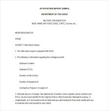 after report template sle report template 10 free word pdf documents