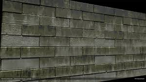 artstation 100 procedural grimey stone wall substance