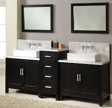 Double Sinks In A Small Bathroom Home Decor Wood Fired Pizza Oven Designs Modern Kitchen Design