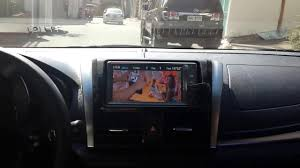 watching usb video toyota vios 2016 e dual vvti panasonic car