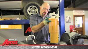 how to replace fuel pump e7093m in 1996 1997 dodge ram pickup