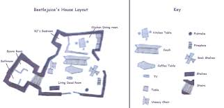 layout of a house layout to beetlejuices house by acelions on deviantart