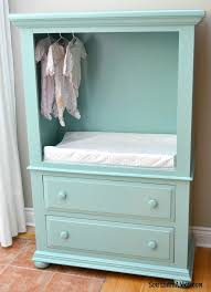 Changing Table Cost Diy Tv Wardrobe Makeover A Great Way To Get A Customized Change