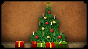 minecraft how to make a christmas tree youtube