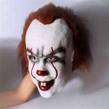 Mask Halloween Costume Pennywise Clown Clothing Shoes U0026 Accessories Ebay