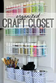 Organize Gift Wrap - the craft closet of my dreams reveal hi sugarplum