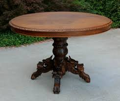 Antique Oak Dining Tables Antique French Oak Black Forest Oval Hunt Dining Table Game Table