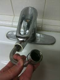 Kitchen Faucet Sprayer Repair Plumbing Why Does My New Replacement Pull Out Kitchen Faucet
