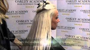 Hair Extension Classes by Nano Ring Hair Extension Training Youtube
