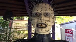 hellraiser pinhead halloween prop review youtube