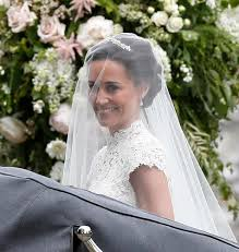 here comes the bride see pippa middleton u0027s stunning wedding gown