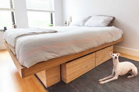 twin bed frame with drawers and headboard solid wood platform bed drawers queen king storage full no slats