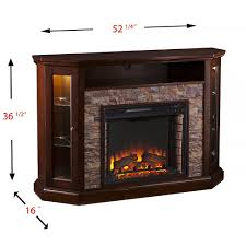 windsor corner infrared electric fireplace media cabinet 23de9047 pc81 redden wall corner electric fireplace tv stand in espresso fe9392