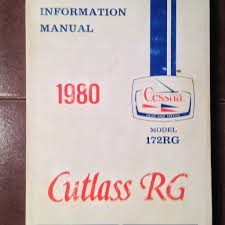 1980 cessna 172rg pilot u0027s information manual u2013 g u0027s plane stuff