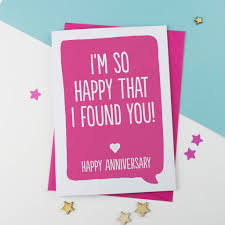 anniversary card for message personal message anniversary or valentines card by a is for