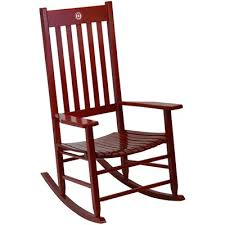 Ohio State Chair Rocking Chairs Indoor Furniture Home Furniture Cracker