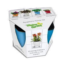 amazon com aquaphoric indoor garden kit u2013 self watering planter