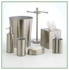 Brushed Nickel Bathroom Accessories by Brushed Nickel Tray To Hold Perfume And Lotion Bottles Home