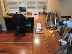 Long Corner Desk Custom Corner Office Office Spaces Desks And Spaces