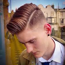 hard parting haircut popular side part hairstyles for men 2018
