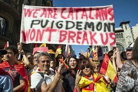 trotz protest puigdemont will unabhängigkeit kataloniens durchziehen