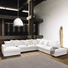 canap loft maison du monde canapé d angle modulable 7 places en coton ivoire modulable