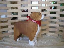 australian shepherd idaho aussie or australian shepherd americana wooden folk art chainsaw