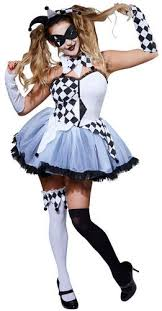 Halloween Circus Costumes Scary Jesters Adults Fancy Dress Halloween Scary Horror Carnival