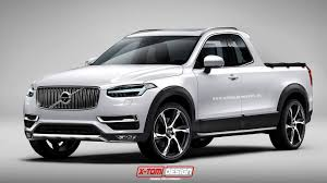 2015 luxury trucks 2015 volvo xc90 rendered as pickup truck from your nightmares