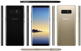 the newest android phone galaxy note 8 is the android phone to go on sale at