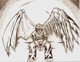fallen angel by evill33tchaos on deviantart