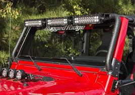 jeep wrangler black lights rugged ridge jeep wrangler black powder coat windshield mount led