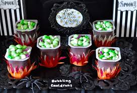 halloween cauldrons witch halloween party cauldron pudding make life lovely
