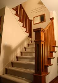 Andy Banister Prairie Style Ranch Remodel Staircase And Railing Detail