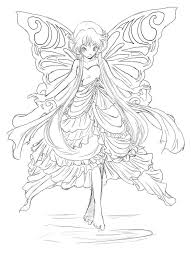 delightful design fairy coloring page free printable pages for
