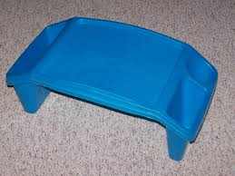 plastic lap desk great for trips in the car