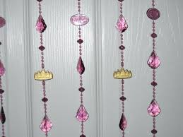 Diy Beaded Door Curtains Decorations Home Decor Ideas With Beads Diy Wood Bead Garland