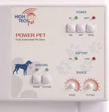 Pet Doors For Patio Doors Automatic Pet Door For Patio Large Opening Short Height Robotshop