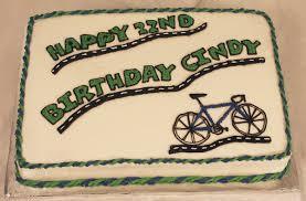 bicycle birthday cake texas rose bakery