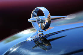 1947 buick sedanette ornament photograph by reger